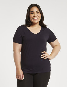 Bodycode Curve Slimline Short-Sleeve Top, Eclipse product photo