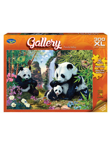 Puzzles Gallery Panda Valley Jigsaw Puzzle, 300-Piece product photo