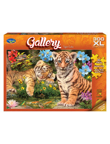 Puzzles Gallery Tiger Cubs Jigsaw Puzzle, 300-Piece product photo