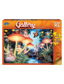 Puzzles Gallery Toadstool Brook Jigsaw Puzzle, 300-Piece product photo