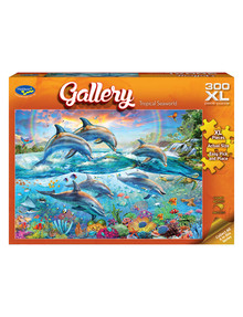 Puzzles Gallery Tropical Seawold Jigsaw Puzzle, 300-Piece product photo