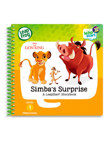 Leap Frog Leapstart Lion King Simba's Surprise, 3D Storybook product photo