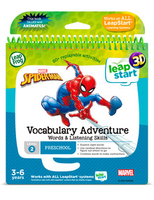 Leap Frog Leapstart Spiderman Vocabulary, 3D Activity Book product photo