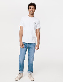 Levis Relaxed Short-Sleeve Logo Tee, White product photo