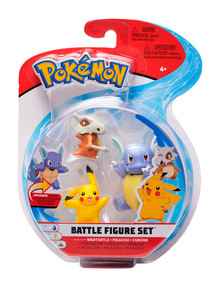 Pokemon 5cm & 7cm Figure 3 Pack, Assorted product photo