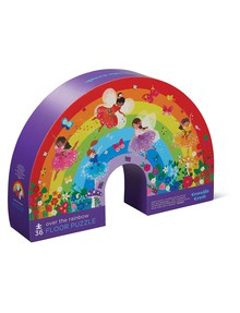Crocodile Creek Floor Puzzle Rainbow, 36-Piece product photo