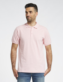 Chisel Ultimate Short-Sleeve Polo, Pink product photo