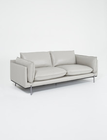 LUCA Harlow 3 Seater Sofa, Feather Grey product photo