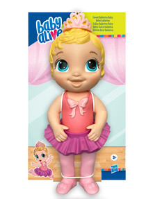 Baby Alive Sweet Ballerina Baby Doll, Assorted product photo