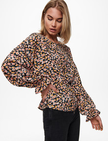 ONLY Fuchsia Long-Sleeve Top product photo