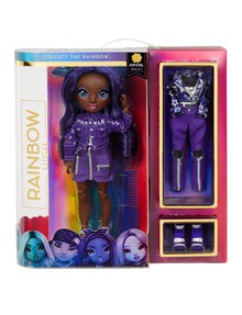 Rainbow High Krystal Bailey, Indigo Fashion Doll product photo