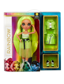 Rainbow High Karma Nichols, Neon Green Fashion Doll product photo