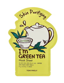 Tony Moly I'm Green Tea Mask Sheet, 21ml product photo