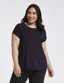 Bodycode Curve Boxy Tee, Eclipse product photo