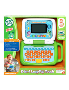 Leap Frog 2-In-1 Green Touch Leaptop product photo