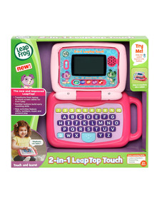 Leap Frog 2-In-1 Pink Touch Leaptop product photo