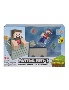 "Minecraft 3.25"" Minecart Mayhem product photo"