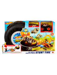 Hot Wheels Monster Truck Stunt Tire Playset product photo