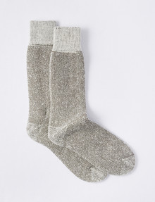 Outdoor Collection Merino Wool Blend Superfleece Sock, 2-Pack, Donkey product photo
