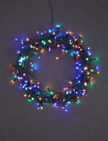 Home Of Christmas 200 LED Solar String Lights, Multicolour product photo