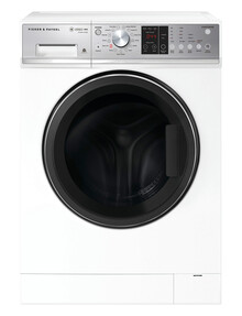 Fisher & Paykel 9kg Front Load Washing Machine, White, WH9060P3 product photo