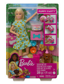 Barbie Puppy Party Pet & Doll product photo