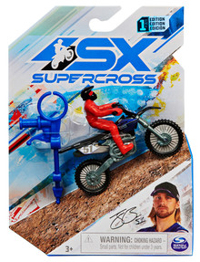Supercross 1:24 Die Cast Motorcycle, Assorted product photo
