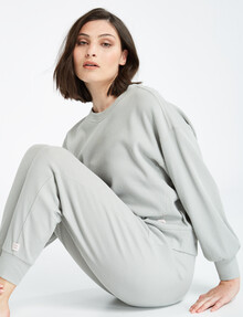Mineral Lounge Sleep 3, The Waffle Crew-Neck Sweater, Sprout product photo