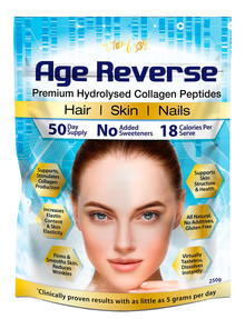 Thin Lizzy Age Reverse Premium Hydrolysed Collagen Peptides, 250g product photo