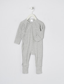 Bonds Pointelle Coverall, Grey product photo