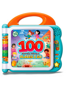 Vtech 100 Words Book - About Places I Go product photo