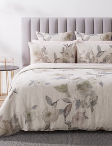 Kate Reed Floral Linen Duvet Cover Set product photo