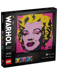 LEGO Art Andy Warhol's Marilyn Monroe, 31197 product photo