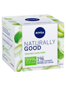 Nivea Naturally Good Radiance Day Cream, 50ml product photo