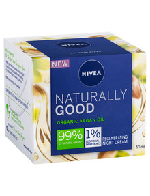 Nivea Naturally Good Regenerating Night Cream, 50ml product photo