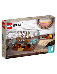 Lego Ideas Ship In A Bottle, 92177 product photo