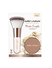 Nude By Nature Finishing Duo, Banana product photo
