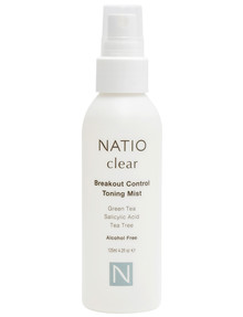 Natio Clear Breakout Control Toning Mist, 125ml product photo