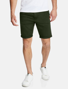 Connor Darwin Chino Short, Olive product photo