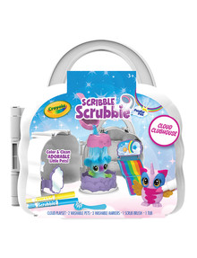 Crayola Scribble Scrubbies, Cloud Clubhouse product photo