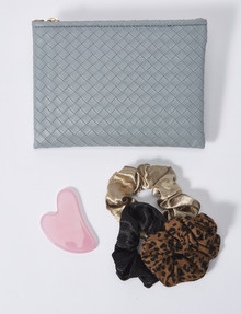 Whistle Clutch and Accessories Gift Set, Blue product photo