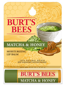 Burts Bees Matcha & Honey Lip Balm, 4.25g product photo