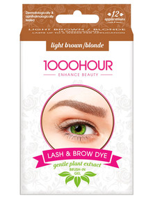 1000HR Eyelash & Brow Plant Based Kit, Light Brown/Blonde product photo