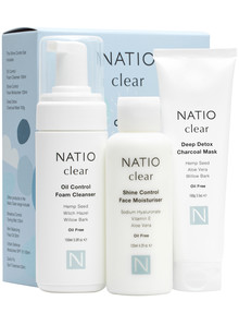 Natio Clear Shine Control Starter Set product photo