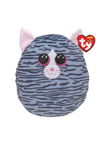 Ty Beanies Squish A Boos, 35cm, Kiki Cat Gray product photo