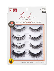 Kiss Nails Multi Lashes Curated, Faux Mink product photo