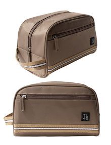 Tender Love + Carry Webbed Large Toiletry Case, Tan product photo