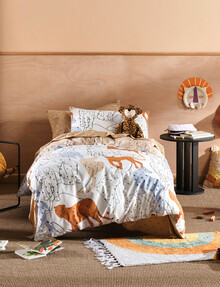 Hiccups Big Cats Duvet Cover Set product photo