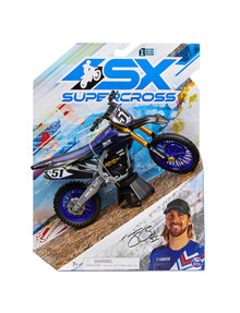 Supercross Die Cast 1:10 Bike, Assorted product photo