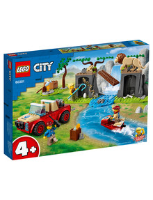 Lego City Wildlife Rescue Off-Roader, 60301 product photo